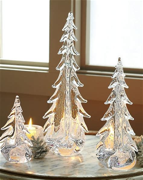simon pearce glass christmas trees simon pearce evergreen tree with bubbles oh i can t these for years and years thanks to