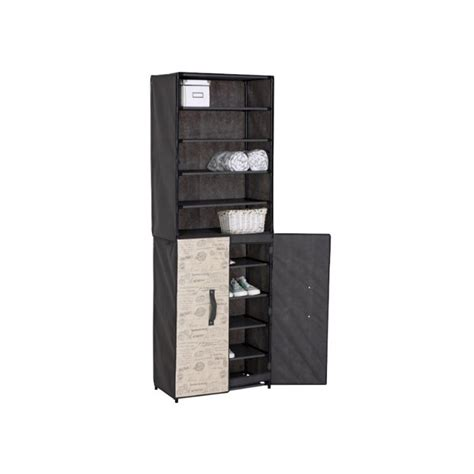 clothes storage cabinets with doors clothing cabinet with shoe organizer and rigid door