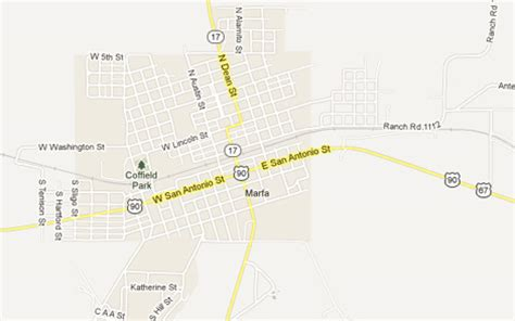 where is marfa texas map marfa tx the daytripper