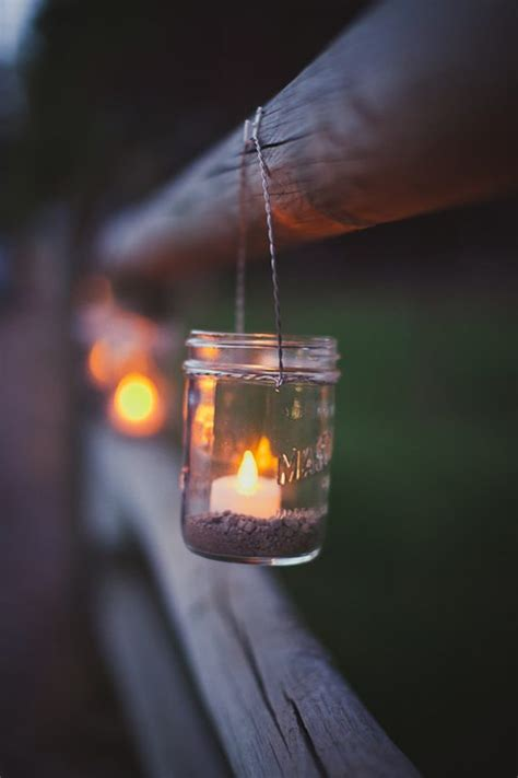 wedding ideas mason jar lanterns weddingbells