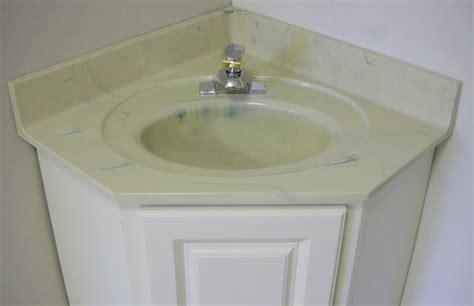 corner vanity top sink custom vanity tops