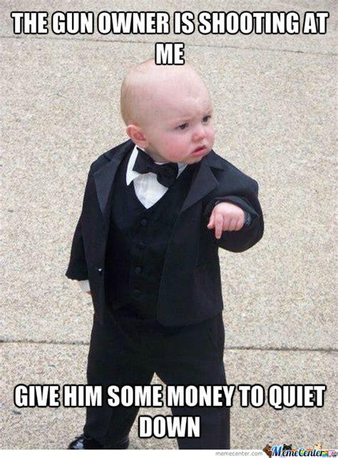 Gangster Baby Meme - gangster baby by recyclebin meme center