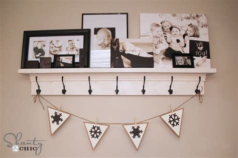 printable snowflake banner more free printable banners numbers shapes shanty