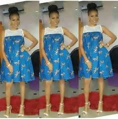 bump short with ankara bump fashion african fashion african prints african