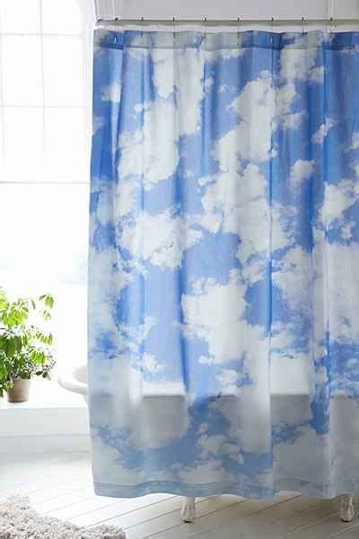 Outfitters Shower Curtain by Allover Clouds Shower Curtain Outfitters Pretty