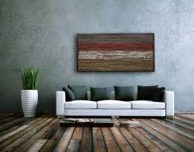 Constructed from reclaimed local barn wood the earth tones wooden