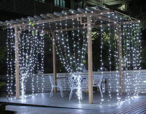 are led lights better why are outdoor led curtain lights better than string