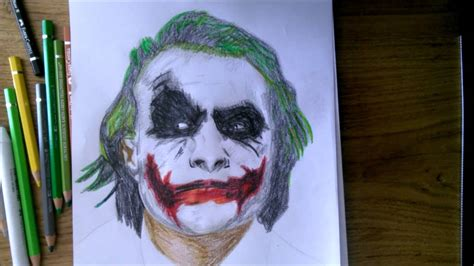 Drawing Joker by Joker Drawing Drawing Pictures