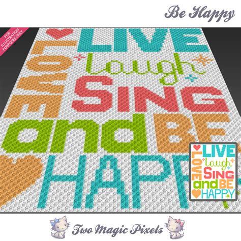 pattern magic 3 pdf free download be happy crochet blanket pattern c2c twomagicpixels