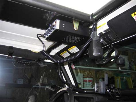 Jeep Tj Cb Mount The Jeep Expeditions Exploration Education