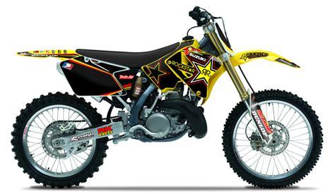 Suzuki Rm 125 2014 2001 2014 Suzuki Rm 125 250 Team Rockstar Dirt Bike
