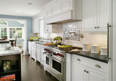 modern traditional kitchen painted white contemporary traditional contemporary