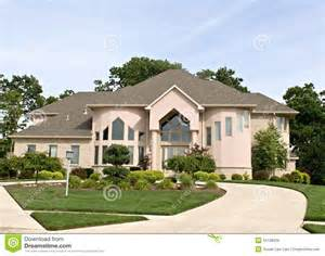 home luxury suburban home royalty free stock images image