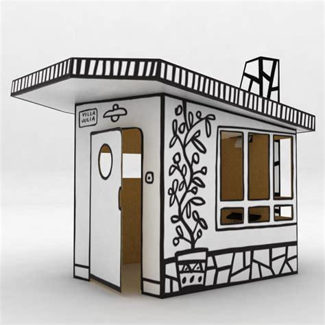 Cardboard House Magis Villa Julia Small Cardboard House Panik Design