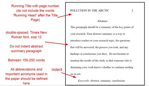 formatting rules   paper
