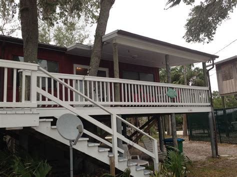 dog friendly tree houses the treehouse pet friendly open gulf private dock cedar key florida north central