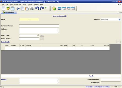 hotel billing software free download full version hotel billing software shareware version 1 0 25 by
