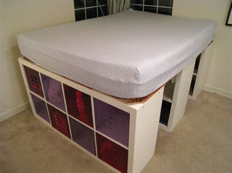 Diy Storage Bed Frame Storage Glee Diy Bed Frame