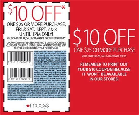 macy s coupon print proves how not to offer a