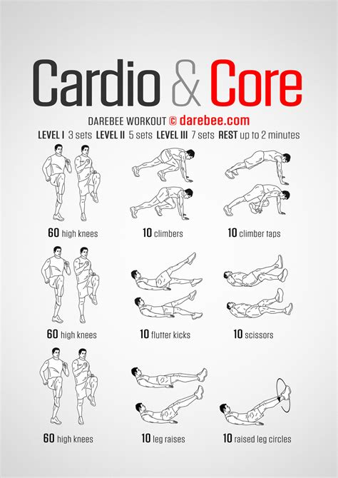 Workouts At Your Desk Cardio Amp Core Workout