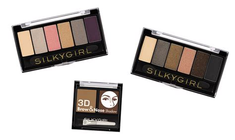 Eyeshadow Silkygirl Harga 29 model set makeup silky vizitmir