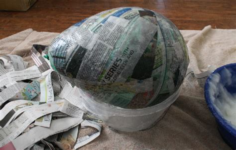 How To Make Paper Mache Out Of Flour - 15 diy paper mache eggs guide patterns