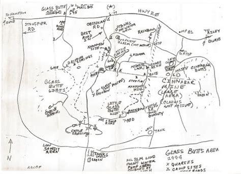 central oregon rockhounding map central oregon rockhounding map glass butte