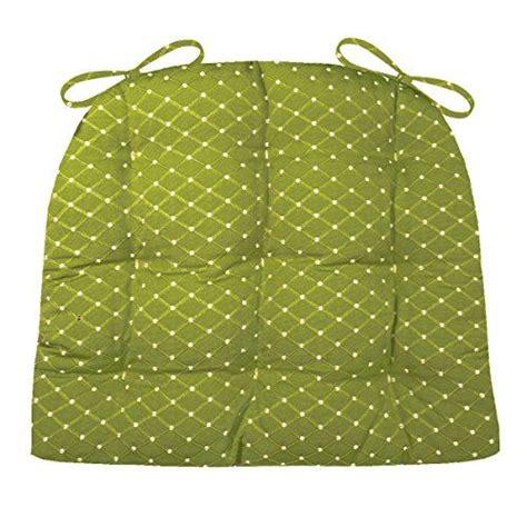 dining chair pad  ties tiffanie dark green extra