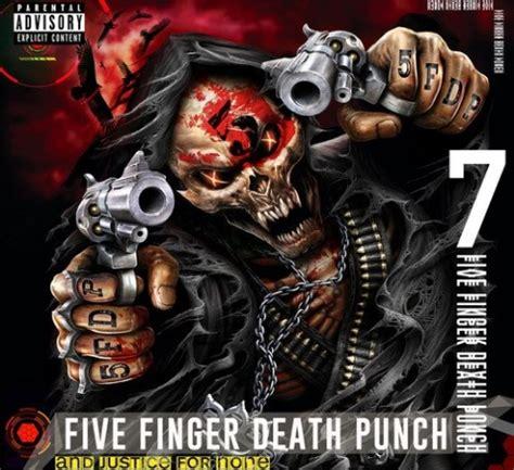 five finger death punch blue on black five finger death punch and justice for none album
