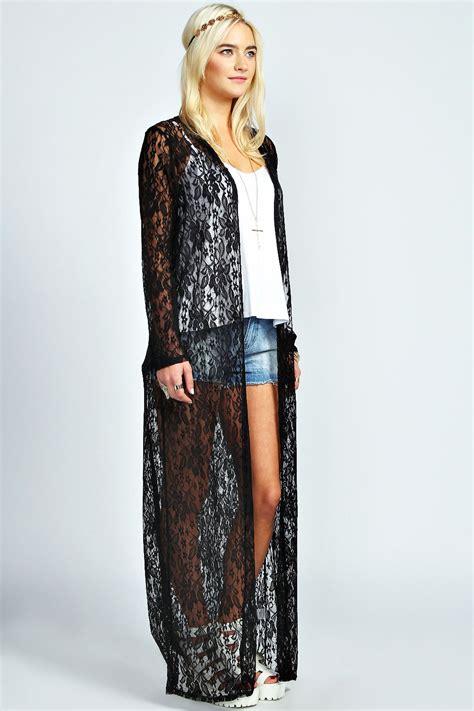 Maxi Kimono boohoo womens julianne maxi length sleeve