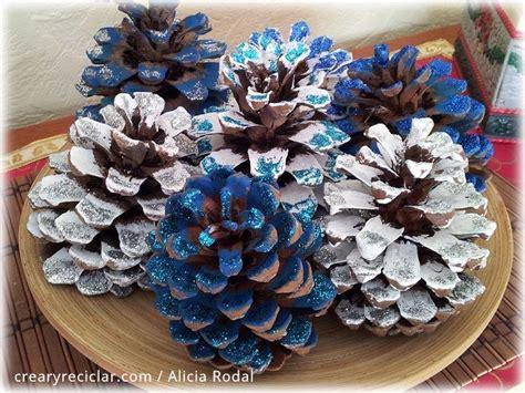 como decorar un centro de mesa de navidad c 243 mo decorar en navidad con pi 241 as de pino un centro de