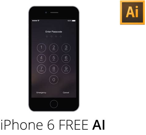 iphone passcode layout collection of free iphone 6 and 6 plus mockups designmodo
