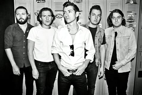 Artic Monkey arctic monkeys drive a fast souped up tractor bull