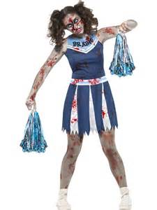 Zombie Cheerleader Costume Teen Zombie Cheerleader Costume 45614 Fancy Dress Ball