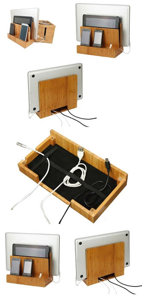 Wooden Charging Station Organizer by Best 25 Phone Charging Stations Ideas On Pinterest