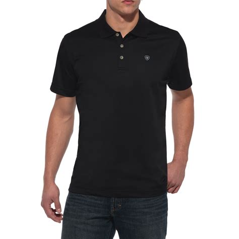 pungo ridge ariat s tek polo black s