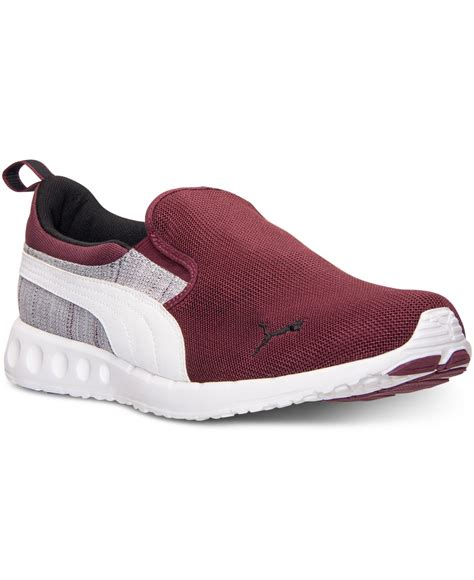 mens casual sneaker s carson runner slip on casual sneakers from