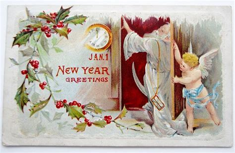 new year time out baby new year shuts out time postcard emb