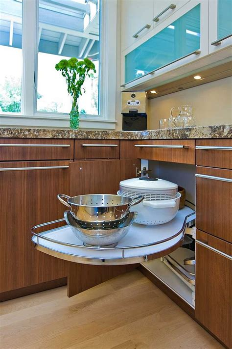 Kitchen Cupboard Solutions - 30 corner drawers and storage solutions for the modern kitchen
