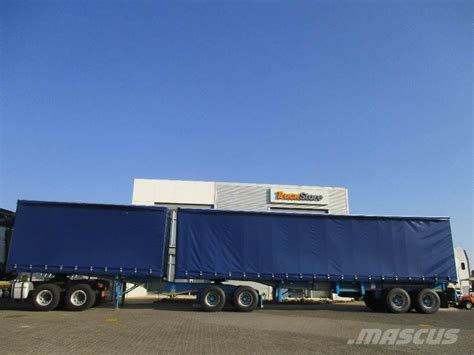 semi trailer truck tautliner interlink semi trailer truck tractor units year