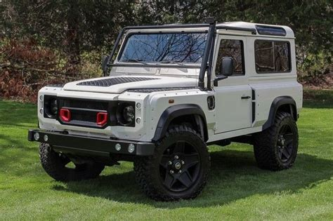 land rover defender 2016 khan great shape 1997 land rover defender khan wide body