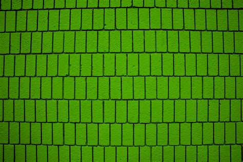 lime green wall lime green brick wall texture with vertical bricks picture
