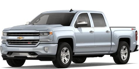 silver paint colors for trucks 2018 chevy silverado 1500 paint color options