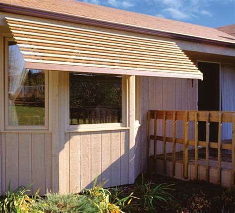 Diy Patio Awning by Wood Window Awnings 187 Plansdownload