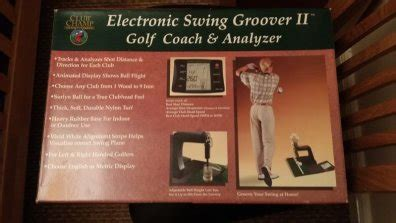 swing groover 2 electronic swing groover ii golf analyzer for sale in