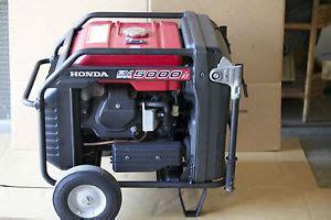 Genset Generator Set Honda Inverter Eu 65is 5000 Watt honda em5000is 5000 watt generator excellent used operation inverter ebay