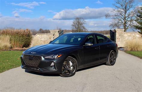 2019 Genesis Sport by Car Review 2019 Genesis G70 3 3t Sport Awd Driving