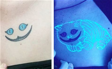 17 awesome glow in the dark tattoos visible under black double exposure tattoos by ukrainian artist andrey