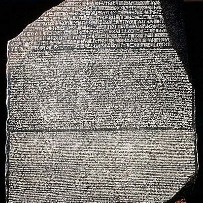 history of the rosetta stone facts for kids discover the code breaking history of the rosetta stone