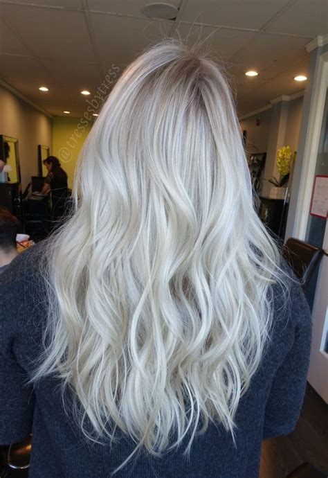 age for icy blonde hair the 25 best white blonde highlights ideas on pinterest